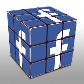 Copertina di Facebook ADS cubo blu