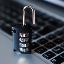 lucchetto con combinazione , password cifrata