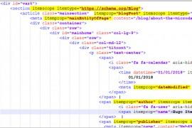 copertina dell'articolo Come applicare dati strutturati con il markup microdata - categoria SEO